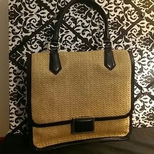 Marc by Marc Jacobs Woven Straw Handbag
